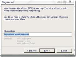 Blogdesk Import