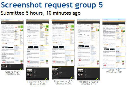 Atma Xplorer on Browsershots
