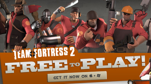 'Team Fortress 2' Goes Free-to-Play Forever