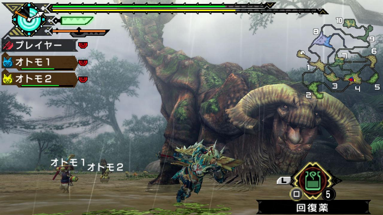 monster hunter portable 3rd wallpaper hd