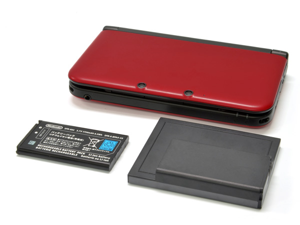 3DS XL battery pack promises 21 hours of continued gaming