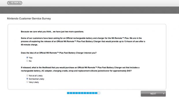 nintendo survey