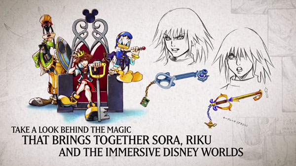 kingdom hearts artbook pv