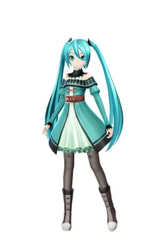 More Hatsune Miku Project Diva F 2nd modules and ...