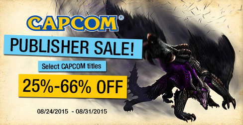 capcom publisher sale