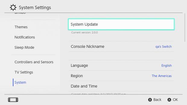 Switch-Update